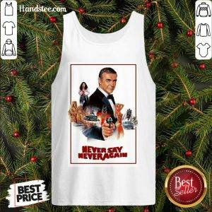 Nice Sean Connery James Bond 007 Never Say Never Again Tank Top- Design By Handstee.com