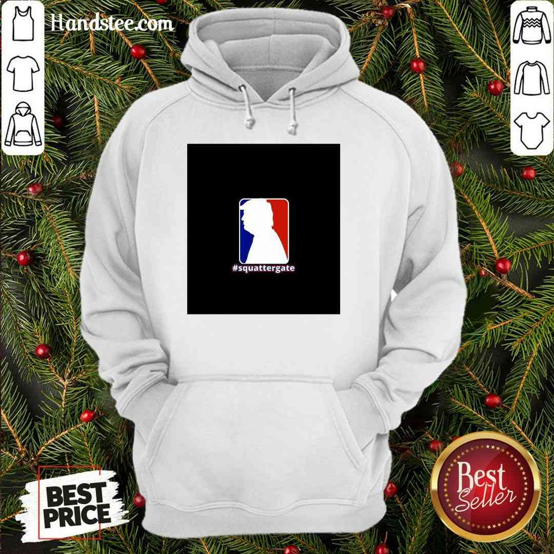 Official Squattergate Donald Trump Election Hoodie- Design By Handstee.com