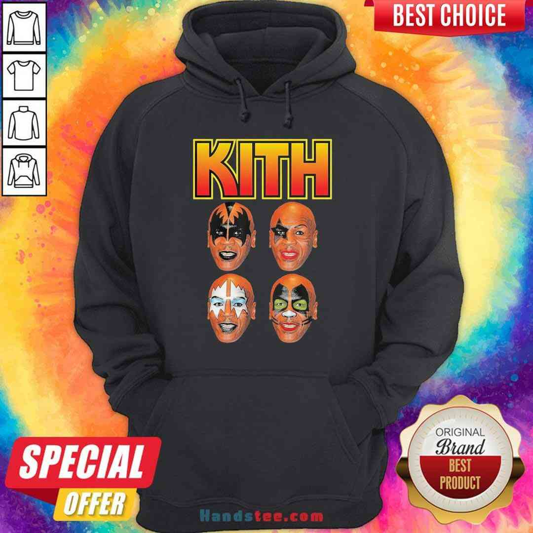 Official Wither Mike Tyson Kith Hoodie- Design By Handstee.com
