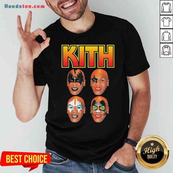 Official Wither Mike Tyson Kith Shirt- Design By Proposetees.com