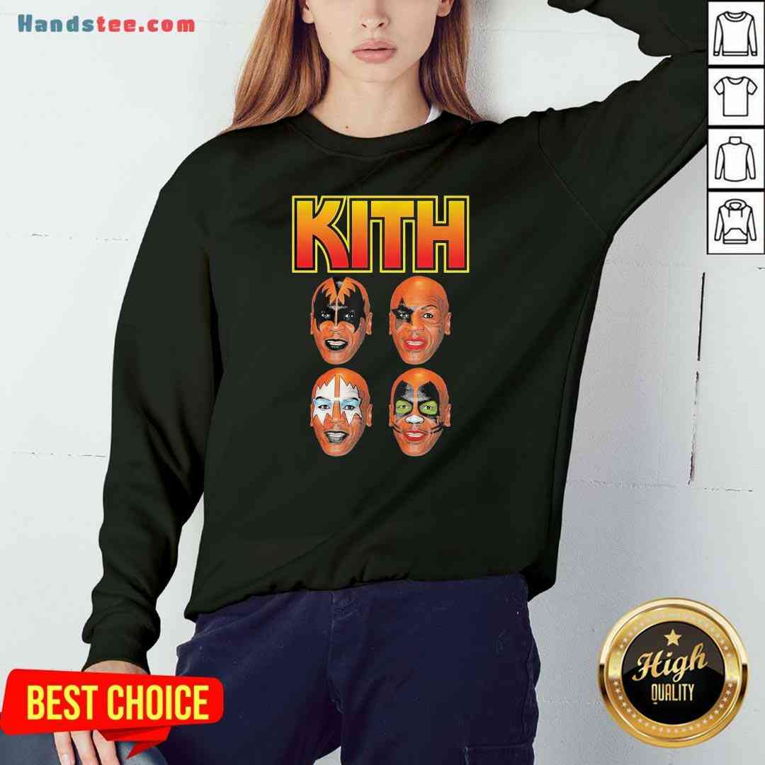 Official Wither Mike Tyson Kith Sweatshirt- Design By Handstee.com