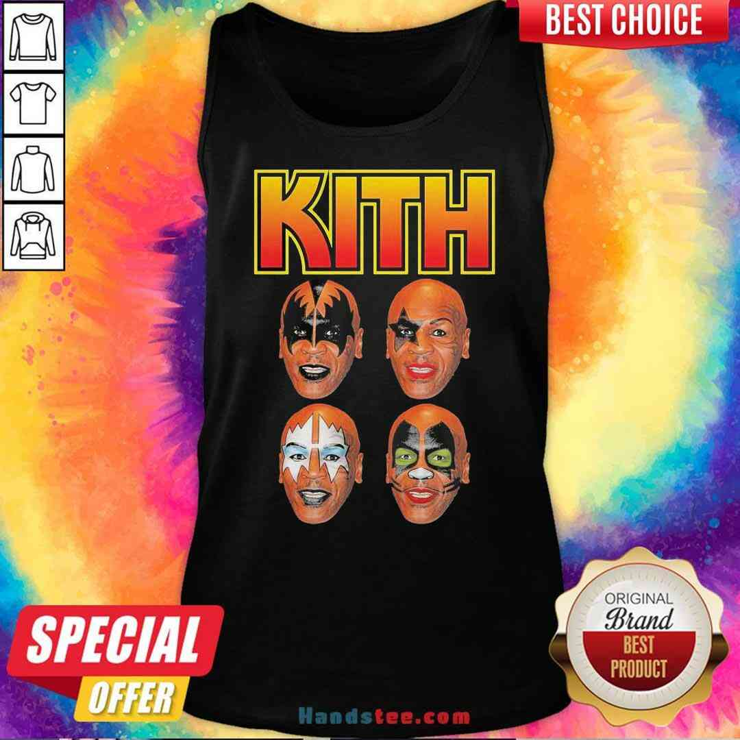 Official Wither Mike Tyson Kith Tank-Top- Design By Handstee.com