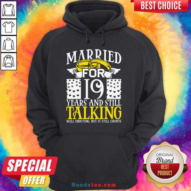 19th Wedding Anniversary For Wife Her Marriage Hoodie- Design By Handstee.com