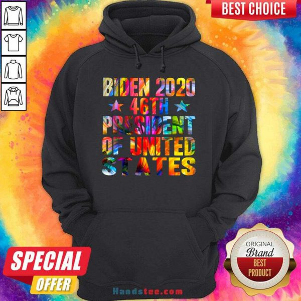 Original Biden 2020 46Th President Of United States Hoodie- Design By Handstee.com