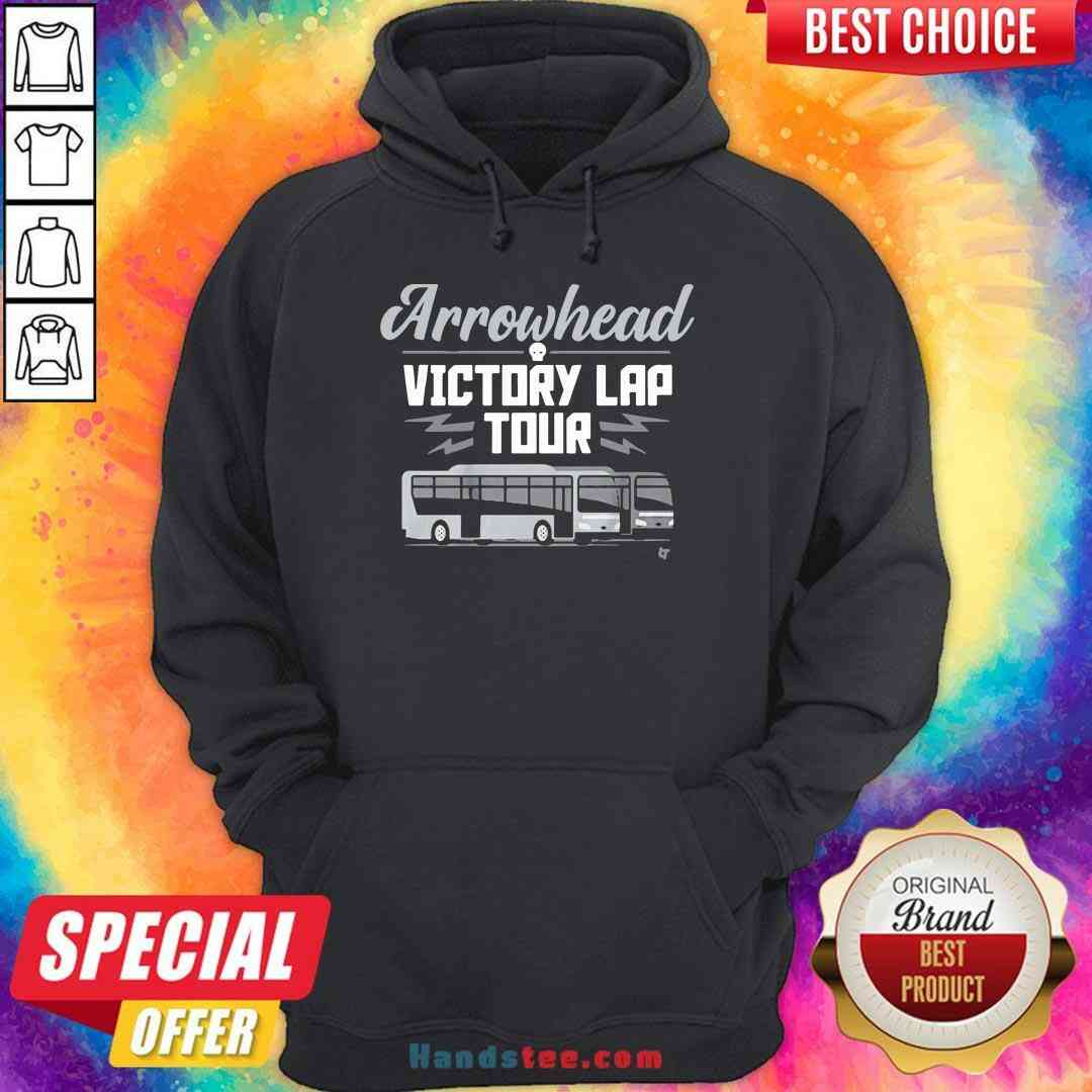 Perfect Arrowhead Victory Lap Tour Bus Hoodie- Design By Handstee.com
