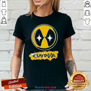 Perfect Claypool Pittsburgh Steeler V-neck- Design By Proposetees.com