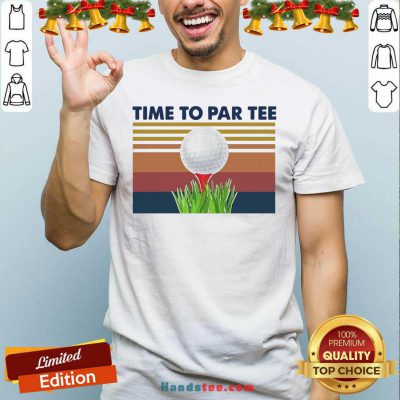 Perfect Golf Time To Par Tee Vintage Shirt- Design By Handstee.com