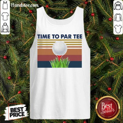 Perfect Golf Time To Par Tee Vintage Tank-Top- Design By Handstee.com