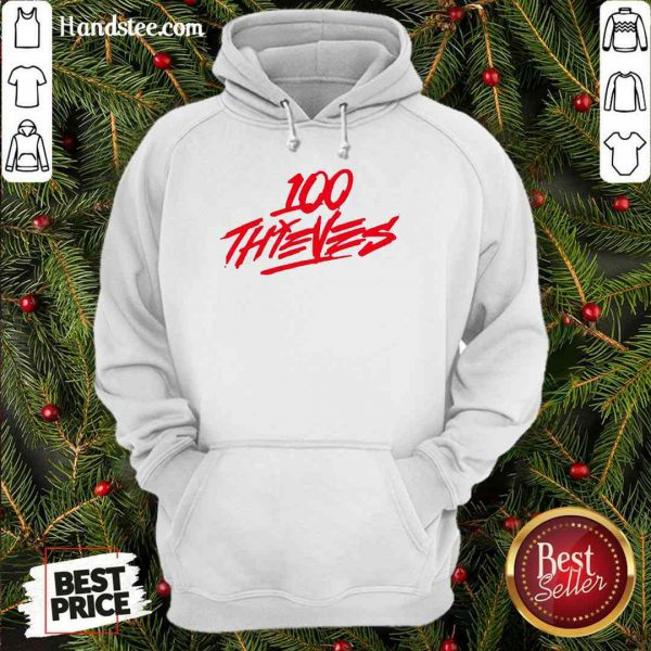 Perfect Los Angeles 100 Thieves 2020 Logo Hoodie- Design By Proposetees.com