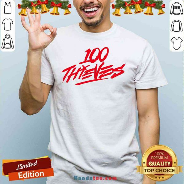 Perfect Los Angeles 100 Thieves 2020 Logo Shirt- Design By Proposetees.com