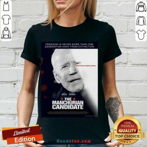 Perfect Manchurian Candidate V-neck- Design By Handstee.com