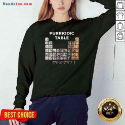 Premium Cat Chemistry Pun Periodic Table Sweatshirt- Design By Proposetees.com