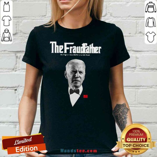 Premium Joe Biden The Grandfather He'll Give You A Ballot You Can Reuse V-neck- Design By Proposetees.com
