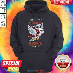 Pretty All I Want For Christmas Is My Hogwarts Letter Hoodie- Design By Proposetees.com