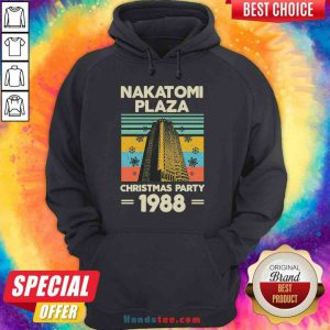 Pretty Nakatomi Plaza Christmas Party 1988 Snow Flower New Ver Hoodie- Design By Proposetees.com