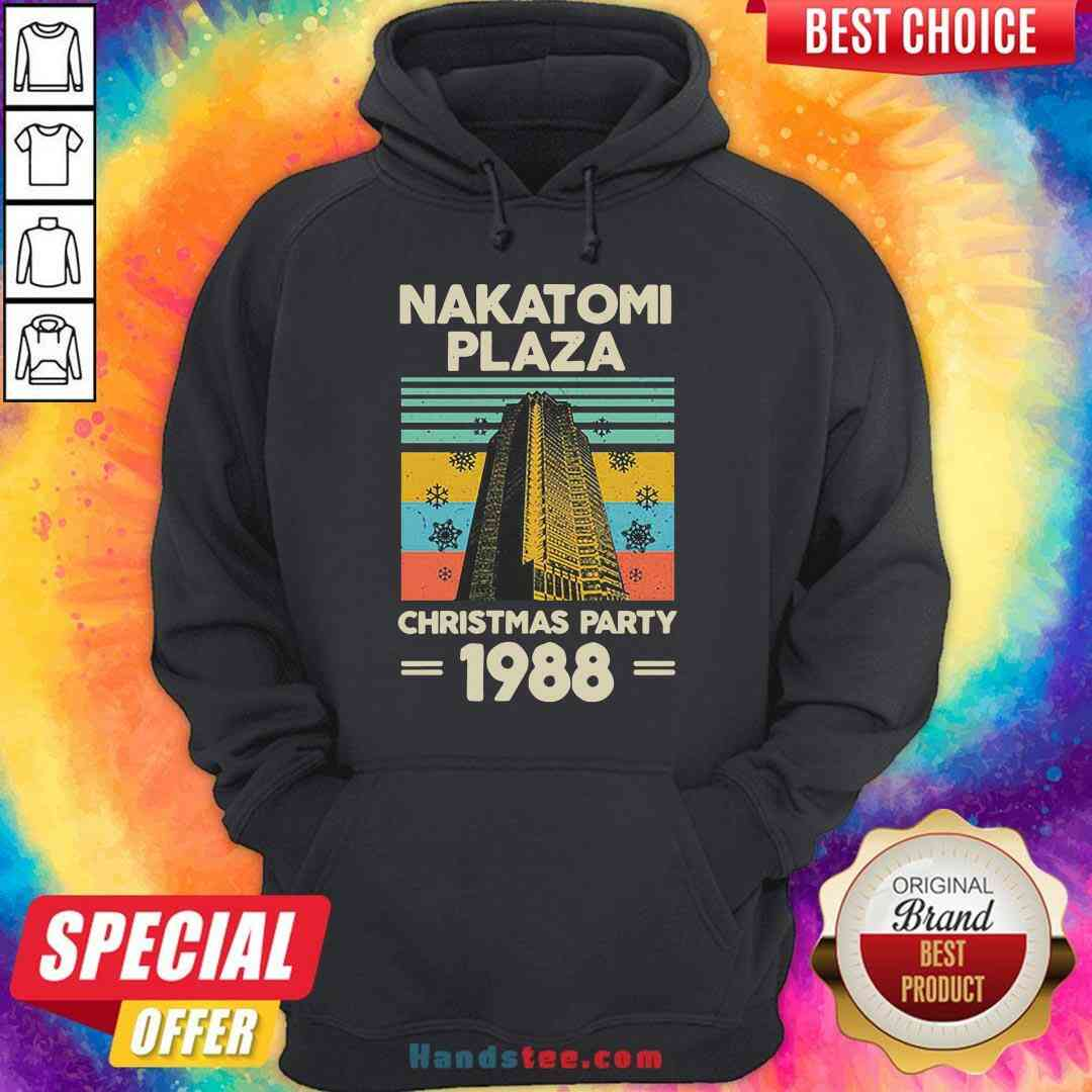 Pretty Nakatomi Plaza Christmas Party 1988 Snow Flower New Ver Hoodie- Design By Handstee.com