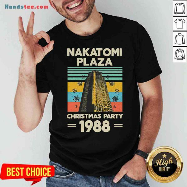 Pretty Nakatomi Plaza Christmas Party 1988 Snow Flower New Ver Shirt- Design By Proposetees.com