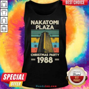 Pretty Nakatomi Plaza Christmas Party 1988 Snow Flower New Ver Tank-Top- Design By Proposetees.com