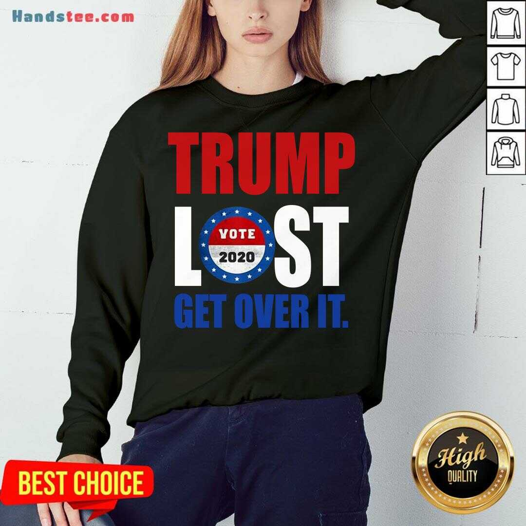 Pretty Trump Lost Biden Election 2020 Winner Sweatshirt- Design By Handstee.com