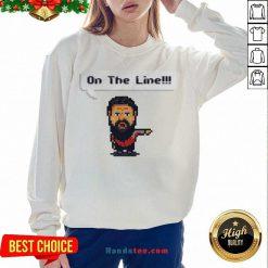 Cute On The Line 2020 Sweatshirt - Design By Handstee.com