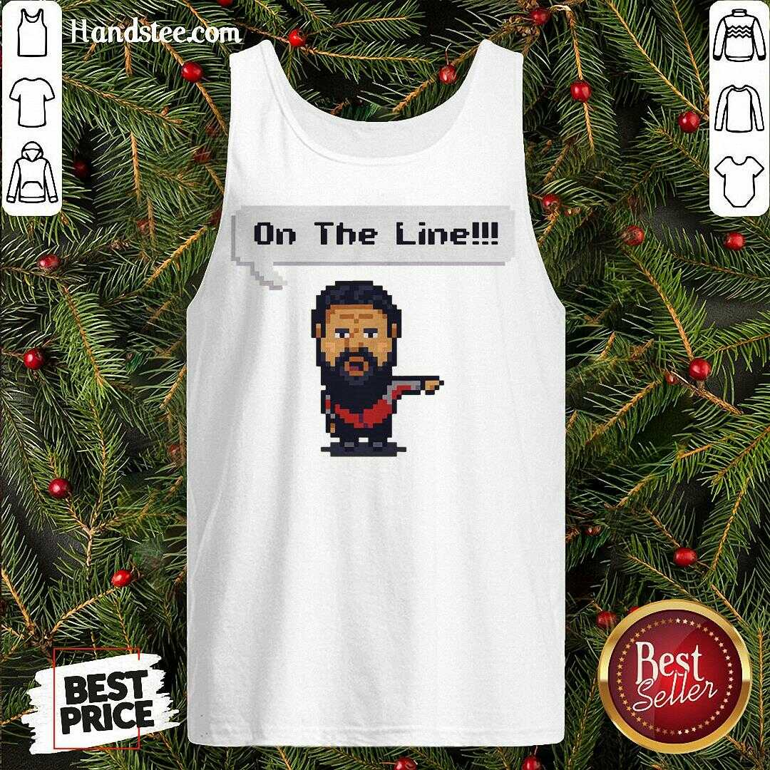 Cute On The Line 2020 Tank Top - Design By Handstee.com