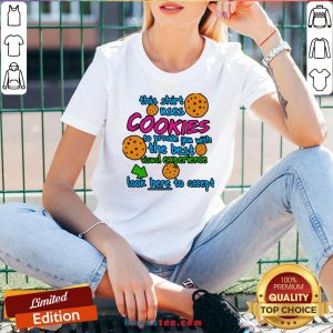 This Shirt Uses Cookies To Provide You With The Best Visual Experience Look Here To Accept V-neck- Design By Handstee.com