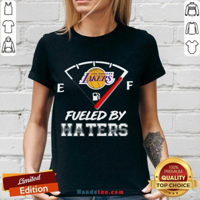 Los Angeles Lakers Nba Basketball Fueled By Haters Sports V-neck- Design By Handstee.com