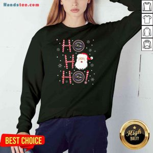 Top Santa Claus Ho Ho Ho Baltimore Ravens Christmas Sweatshirt- Design By Proposetees.com