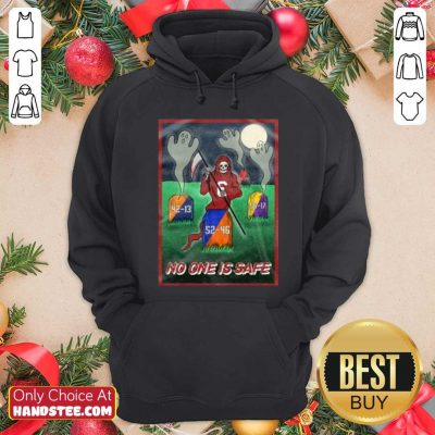 Awesome Death No One Is Safe Hoodie - Design by handstee.com