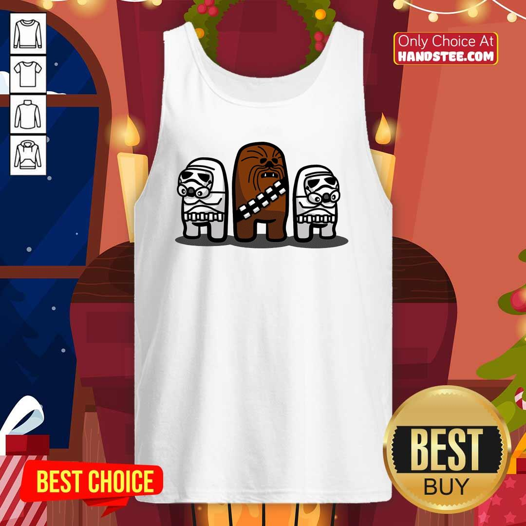Imposter Troopers Among Us Tank-Top- Design By Handstee.com