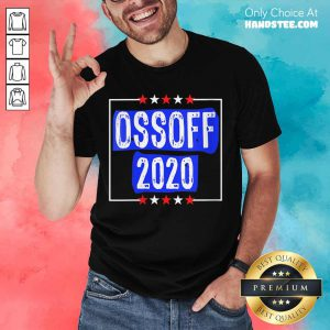 Jon Ossoff For Senate 2020 Shirt- Design By Handstee.com