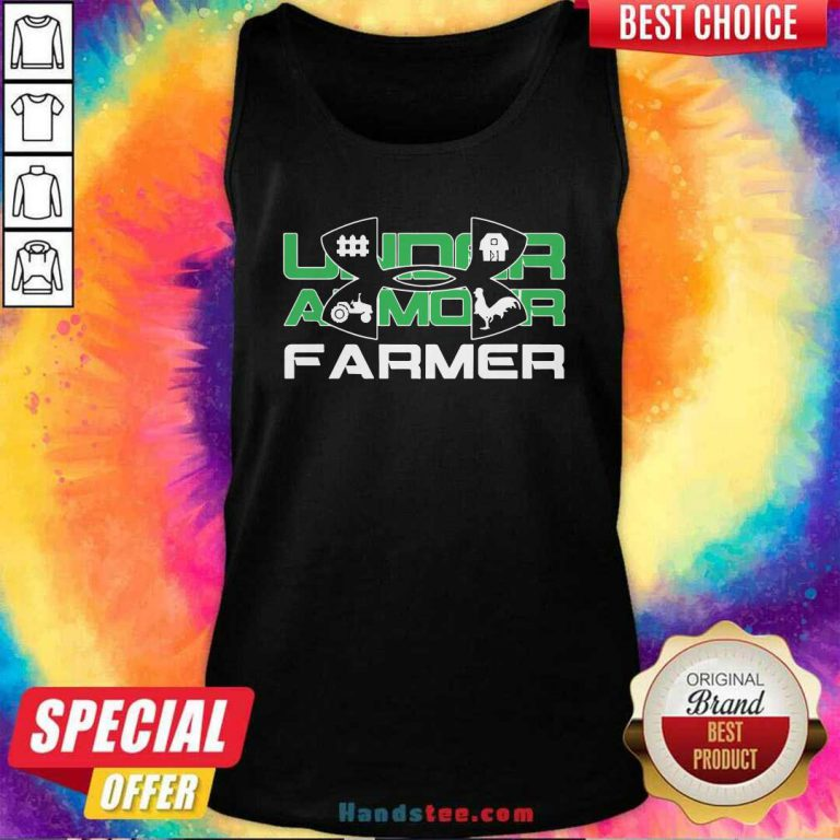 Awesome Under Armour Farmer Tank Top - Design by handstee.com