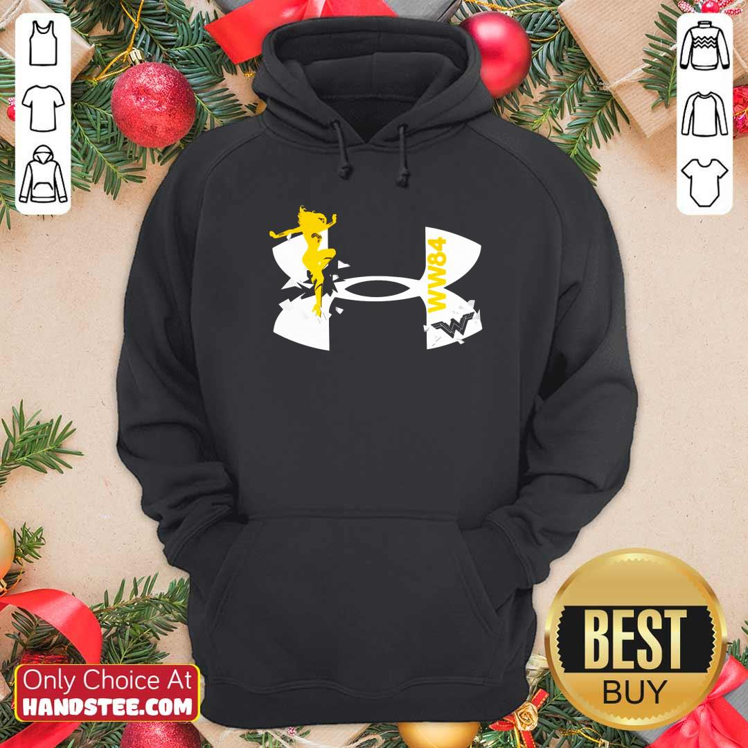 Awesome Under Armour WW84 Hoodie - Design by handstee.com