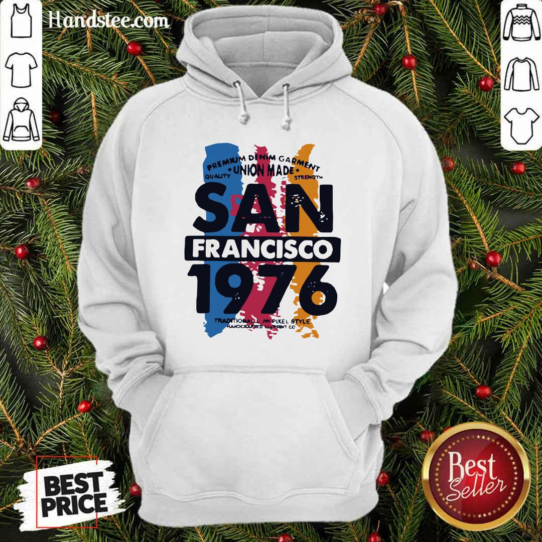Awesome Union Made San Francisco 1076 Hoodie - Design by handstee.com