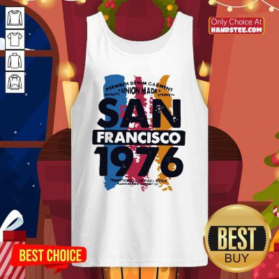 Awesome Union Made San Francisco 1076 Tank Top - Design by handstee.com