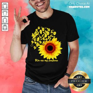 Horror Character Sunflower You Are My Sunshine Shirt- Design By Handstee.com