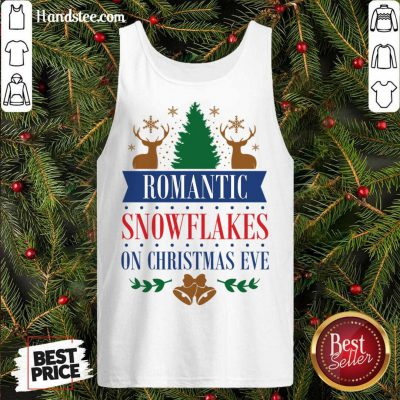 Snowflakes On Christmas Eve Tank-Top- Design By Handstee.com