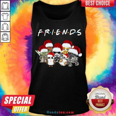Star Wars Darth Vader Baby Yoda And Friends Christmas Long Sleeve Tank-Top- Design By Handstee.com