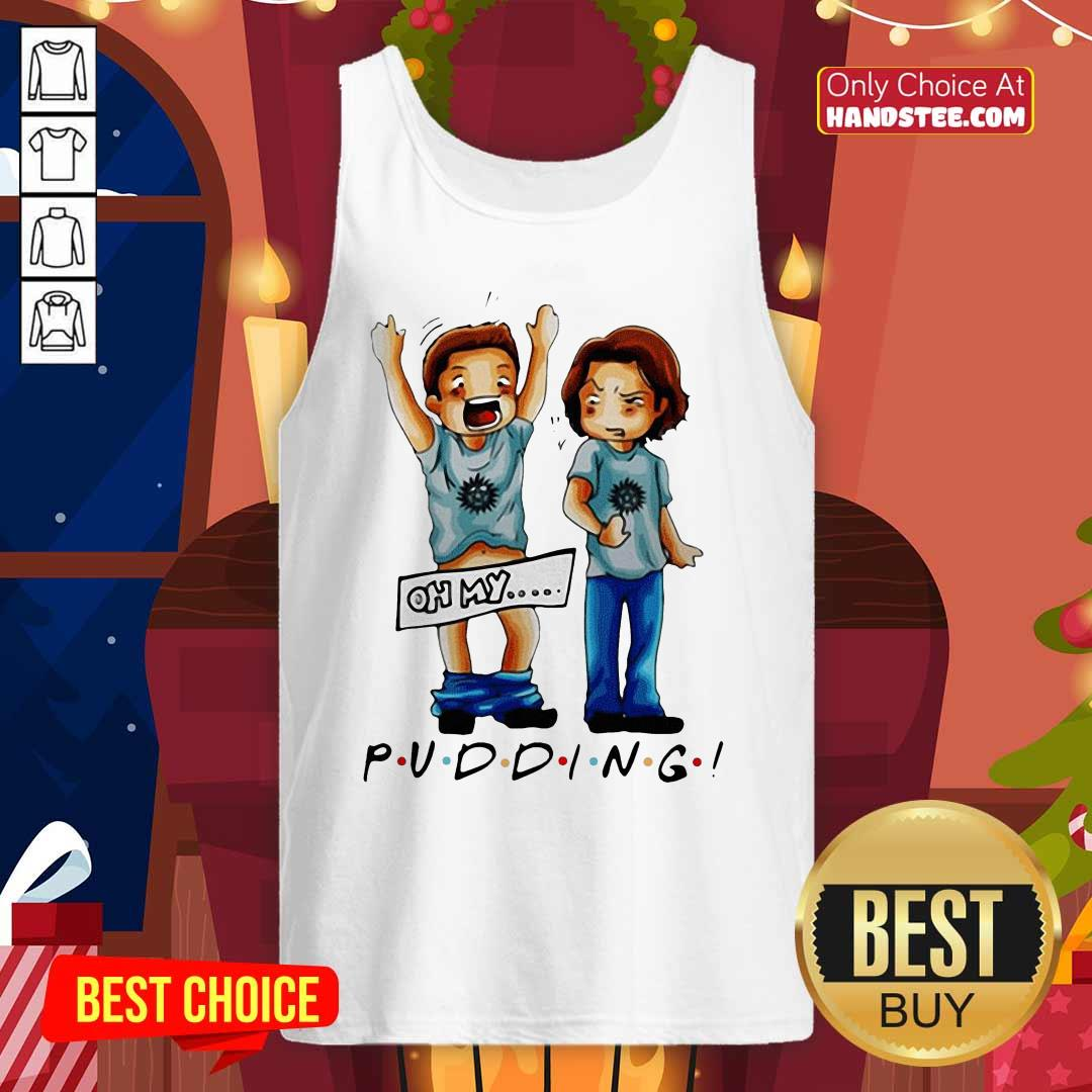 Official Supernatural Pudding Oh My Tank Top- Design by handstee.com