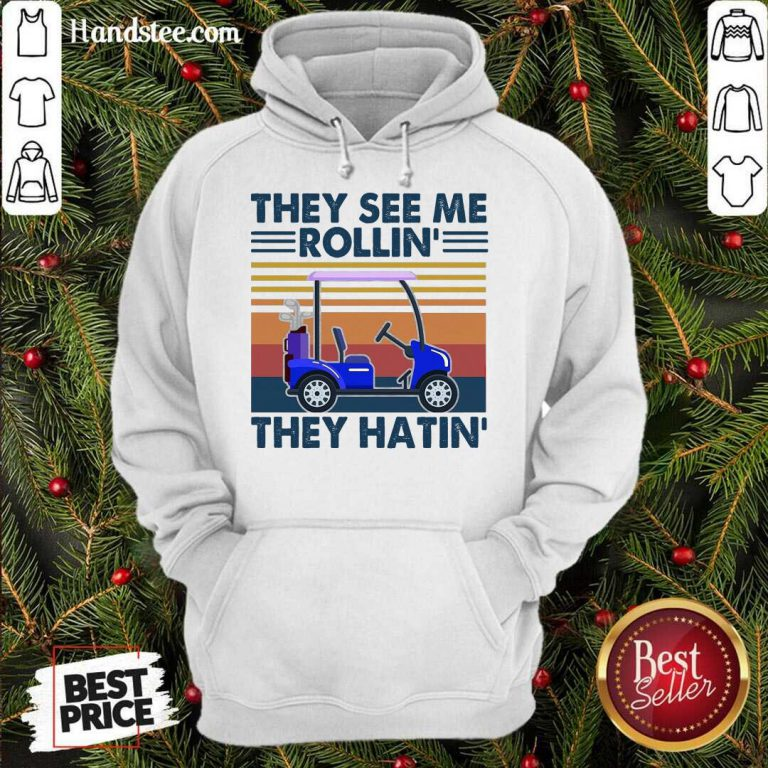 They See Me Rollin' They Hatin' Vintage Hoodie- Design By Handstee.com