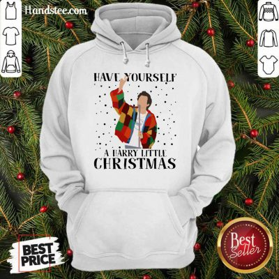 Premium Harry Styles Have Yourself A Harry Little Christmas 2020 Hoodie - Design by handstee.com