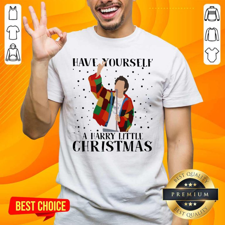 Premium Harry Styles Have Yourself A Harry Little Christmas 2020 Shirt - Design by handstee.com