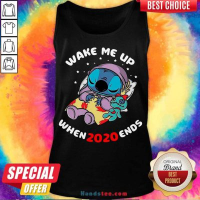 Stitch Wake Me Up When 2020 Ends Tank-Top- Design By Handstee.com