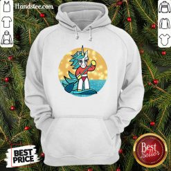Amused Sup Unicorn Paddleboard 1 Hoodie - Design By Handstee.com