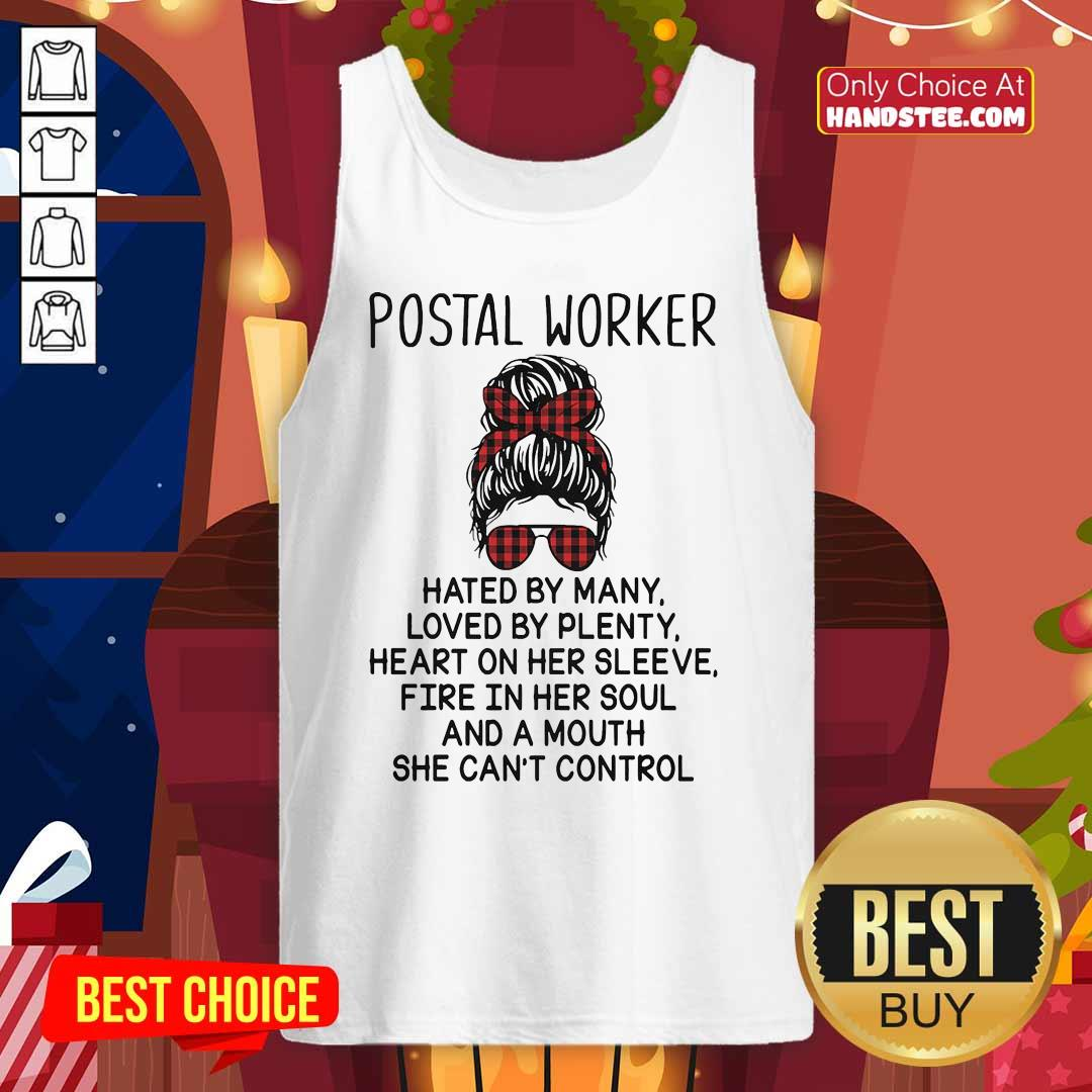 Amused Worker Hated By Many 44 Tank Top - Design by Handstee.com