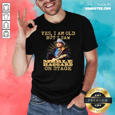 Amused Yes Merle Haggard 56 On Stage Shirt - Design by Handstee.com