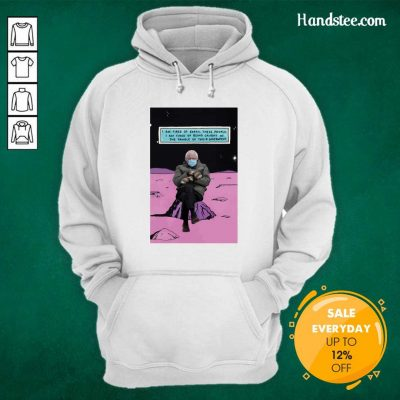 Angry Bernie Sanders Mittens Sitting Of Earth 2 Sweater