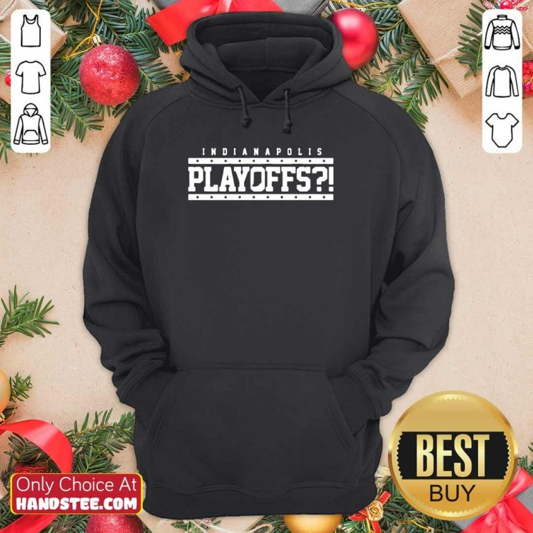 Angry Indianapolis Colts 39 Playoffs Hoodie - Design by Handstee.com