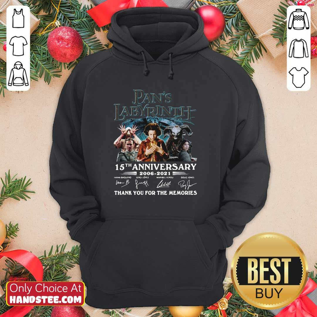 Angry Pans Labyrinth 15th Hoodie - Design by Handstee.com