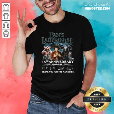 Angry Pans Labyrinth 15th Shirt - Design by Handstee.com